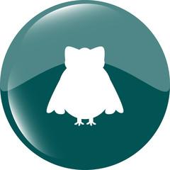 Owl - icon isolated