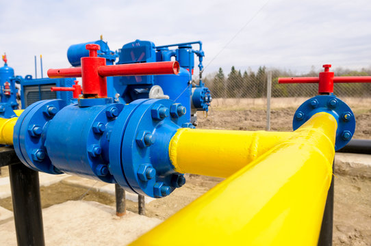 natural gas field station equipment