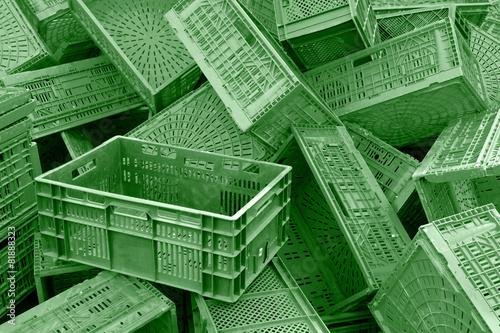 Lieblings Grüne Kisten, q.