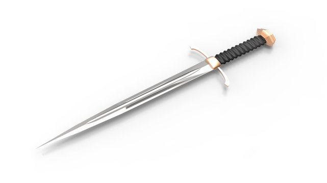 medieval two-edged sword