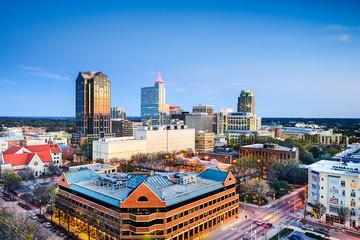 Raleigh, North Carolina, USA Downtown Skyline