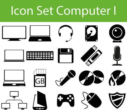 Icon Set Computer I