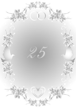 Silver wedding 25 years