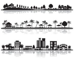 様々な都市