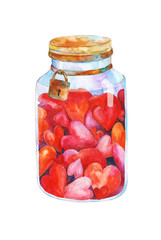 heart in the jar