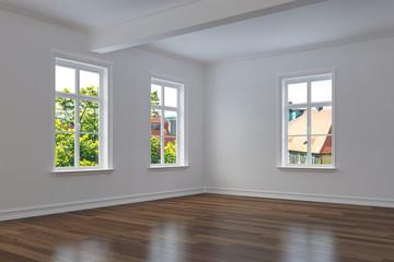 empty room - apartment - shot 2