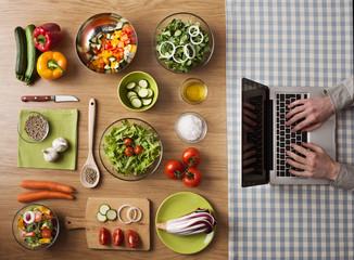 Vegetarian healthy food online recipes