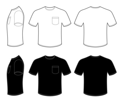 Man's T Shirt with Pocket