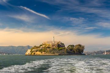 Wall Mural - Alcatraz Island in San Francisco