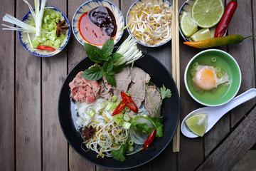 Pho, Vietnamese rice noodles