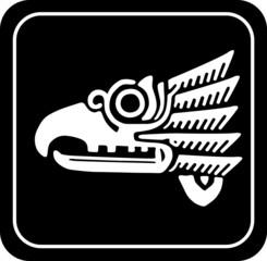 Ancient tribal symbol. Vector EPS 8
