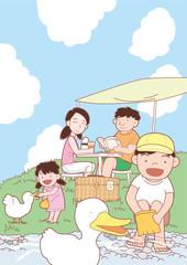 Holiday Family, 家族の休日