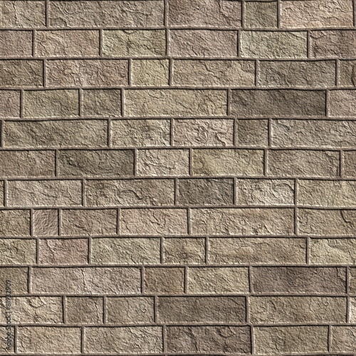 Seamless Brick Texture Wall Background