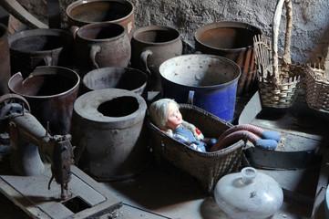 Still life in the old loft