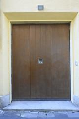 Porta garage colore legno nuova, basculante