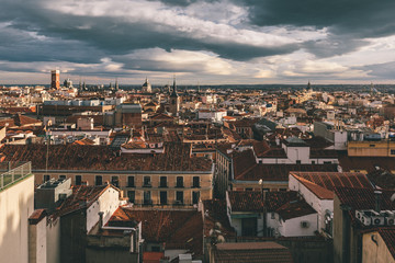 Madrid Skyline, Spain