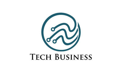 Tech Business Logo