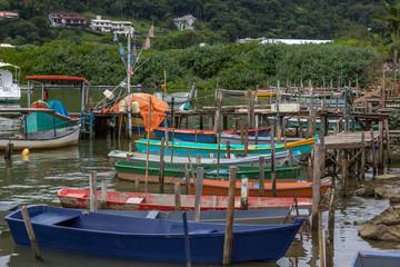 Canoas de pesca