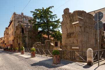 Albano Laziale Porta Praetoria