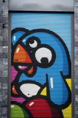 Graffiti birdy