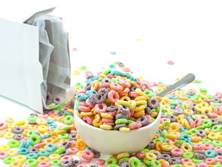 Loop cereal mess landscape