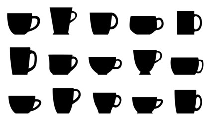cups silhouettes