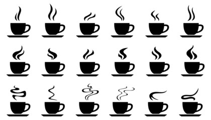 cups smoke silhouettes