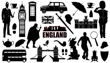 england silhouettes