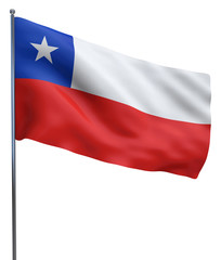 Chile Flag Image
