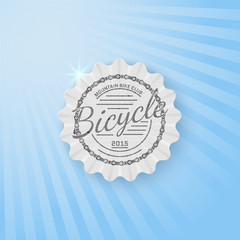 Bicycle badges logos and labels for any use