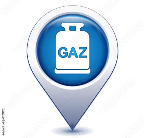bouteille de gaz sur marqueur g olocalisation bleu fichier vectoriel libre de droits sur la. Black Bedroom Furniture Sets. Home Design Ideas