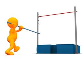 3d Guy: Attempting the Pole Vault