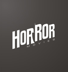 Creative and unique typography for horror movies