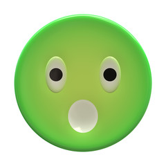 Emoticon plastic face