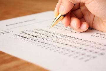 英語の選択問題テスト English Multiple Choice Test