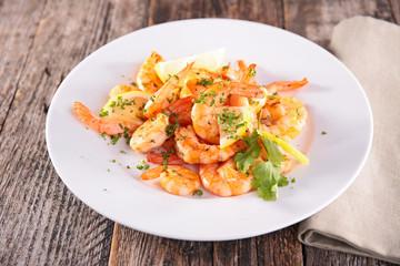 roasted shrimp