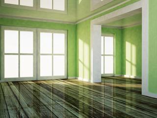 empty room wiht a doorway