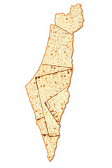 Israel Passover map