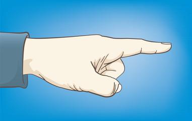 Point the finger