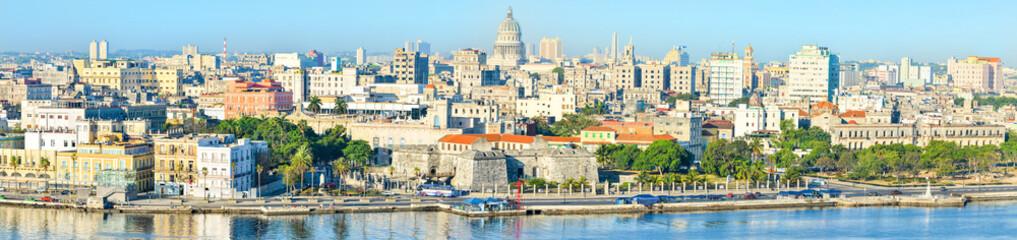 Foto auf Acrylglas Havana View of Old Havana including most of its landmarks