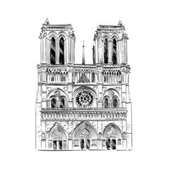 The Cathedral of Notre Dame de Paris, France