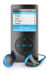 Musical mp3 player