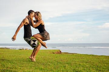 sport dance couple