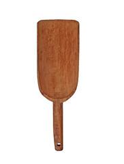 vintage wooden shovel