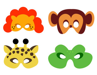 Animal mask printable