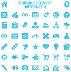 Scribble Iconset Internet 2