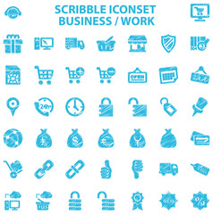 Scribble Iconset Business / Work
