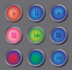 Инетрактивная кнопка