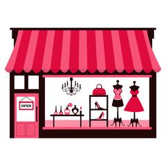 Girly Shopfront