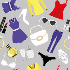 Vector background. Fashion.